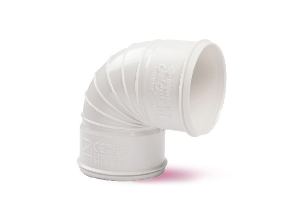 زانوی خم 87/5 درجه دو سر کوپله | گروه صنعتی لوله و اتصالات گلین لعل